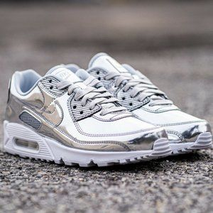 Nike Air Max 90 SP Silver Chrome Women's Running